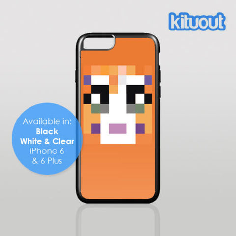 Stampy Long Nose Cat Mine Funny Craft iPhone 5, 6/6 Plus Black White Case Cover New
