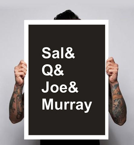 Impractical Jokers Sal Q Joe & Murray Comedy Funny Poster 180gm A1A2A3 New