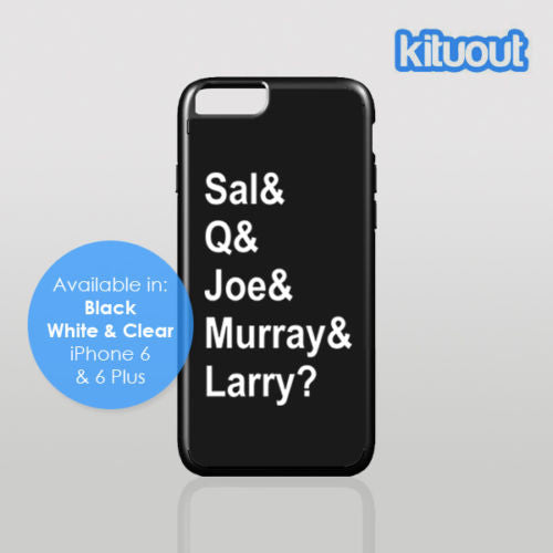 Impractical Jokers Sal Q Joe & Murray & Larry? iPhone 5 6/6 Plus Cover Case New