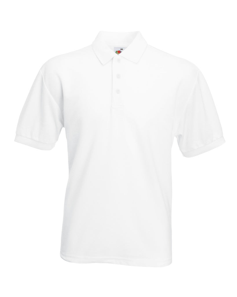 63402 Fruit Of The Loom Men's 65/35 Polo Shirt With Embroidery