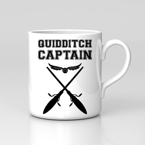 Quidditch Captain Harry Potter Film Fan Art Mug Tea Coffee Office