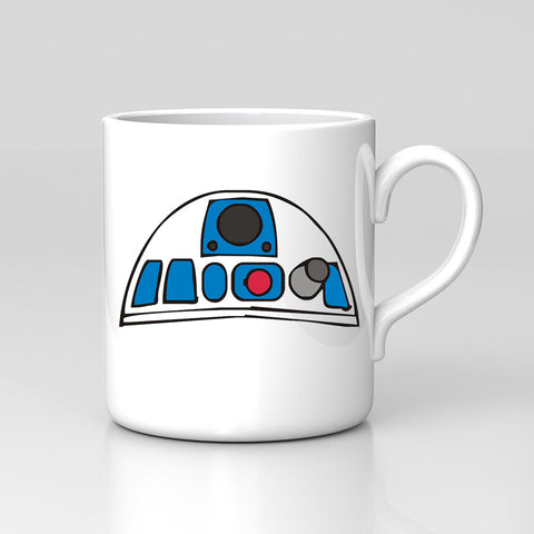 R2D2 Cartoon Star Wars Inspired Funny Mug Birthday Xmas Gift Film Movie New