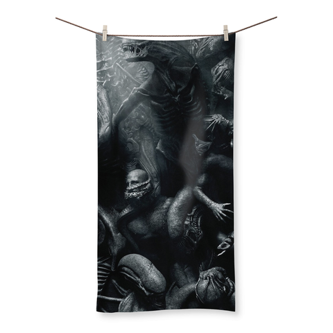 Alien USCSS Covenant Movie 2017 Beach Towel