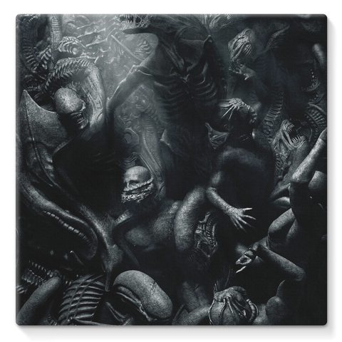 Alien USCSS Covenant Movie 2017 Stretched Eco-Canvas