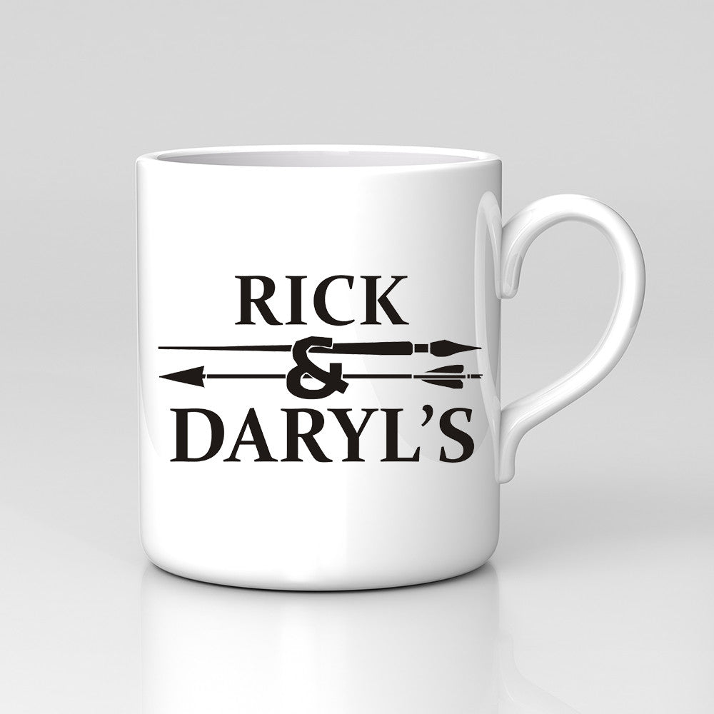 Rick And Daryls Alexandria Nic Norman Walking Dead Mug Great Birthday Xmas Gift New