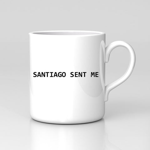 Impractical Jokers Santiago Sent Me SAL Q Funny Coffee Tea Mug Xmas Gift New
