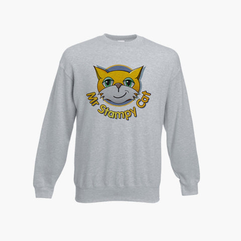 Stampy Long Nose Cat Jumper Sweatshirt Kid Top Mine Funny Craft Ages 1 -13 New