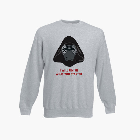 Star Wars The Force Awakens Kylo Ren Retro Jumper Sweatshirt Sizes S-3XL Print