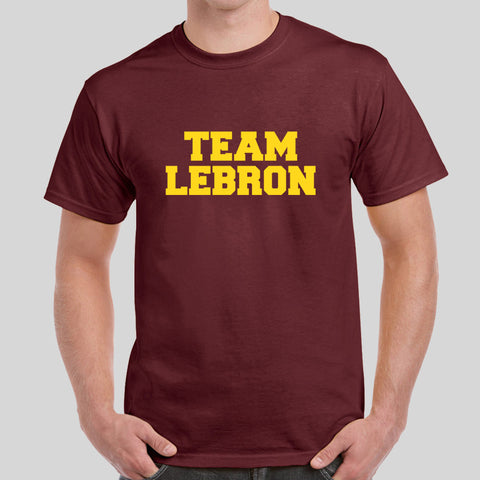 Team LeBron The Land LeBron James NBA 2016 Champions Cleveland Cavaliers T-Shirt Top Tee