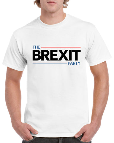 The Brexit Leave Party T-Shirt Brexit Britain British EU Exit Europe Tee Top Novelty Xmas Birthday Gift