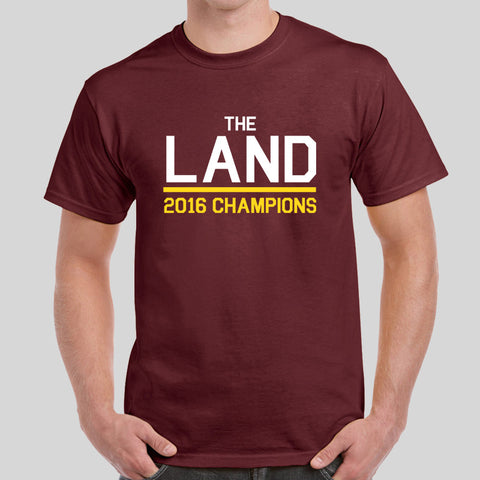 The Land LeBron James NBA 2016 Champions Cleveland Cavaliers T-Shirt Top Tee