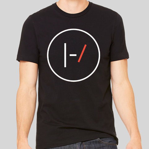 Twenty One Pilots 21 Logo Unofficial Band Music Circle T-shirt Unisex Tee New