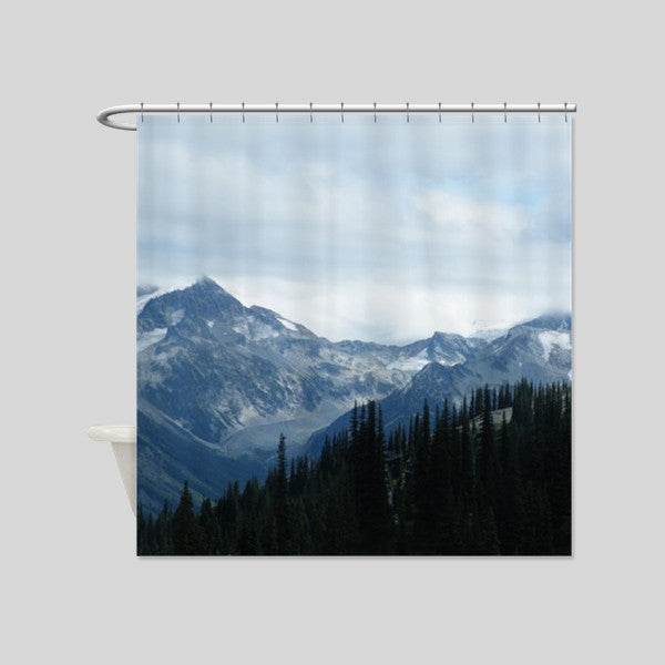 Canada Whistler Vancouver Scenery Shower Curtains