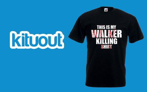 This Is My Walker Killing Shirt AMC Rick The Walking Dead Mens Unisex New