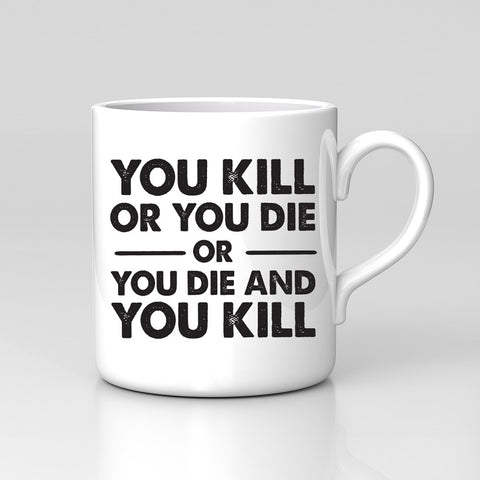 The Walking Dead You Kill Or You Die Horror Walkers Mug Cup Birthday Xmas Gift!