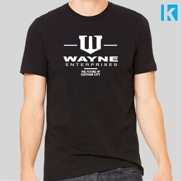 Wayne Enterprises Future Of Gotham City Fan Art Unisex Mens T Shirt Tee Top New