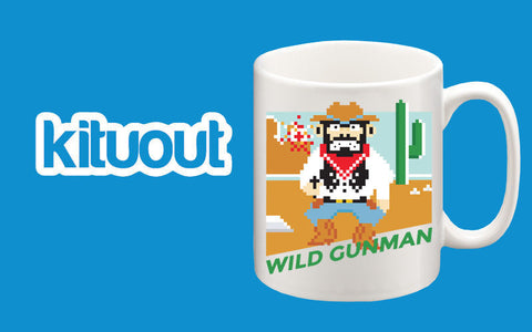 Wild Gunman Nintendo Gaming Back To the Future Mug Great Birthday Xmas Gift New
