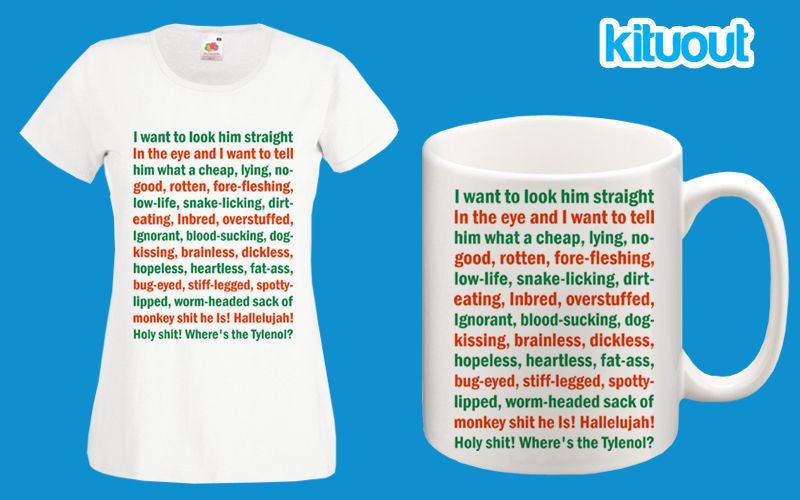 Christmas Vacation Where's The Tylenol? Movie Funny Womens T Shirt ...
