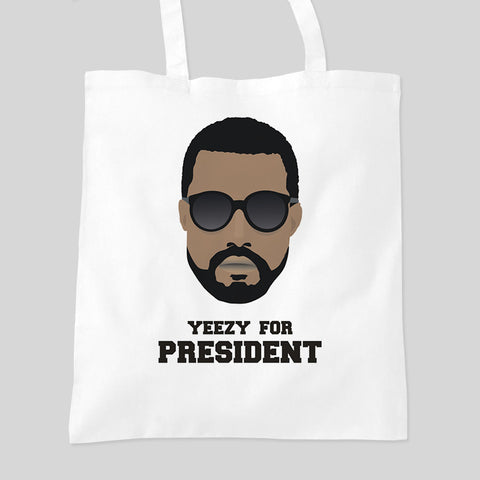 Fan Art Unofficial Yeezy For President Tote Bag