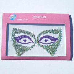 Pink Pyrite / Jewel Masks