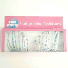 Pink Pyrite / Holographic Eyelashes