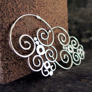 Balinese / Nazca Earrings