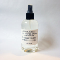 Under Aurora Coconut Oil Spray