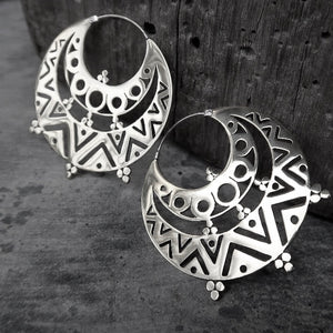 Balinese / Traveler Earrings (Large)