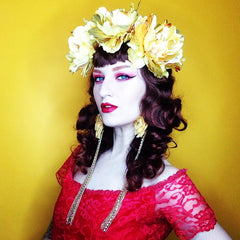 Headdress / Solstice Flower Crown
