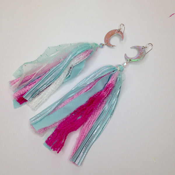 Concetta / Thalia Fringe Earrings, Bright