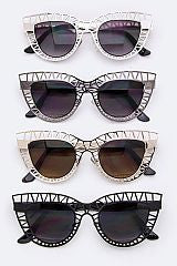 Sunnies / Metal Architectural Cateye