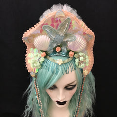 Mermaid Custom La Sirena Headdress