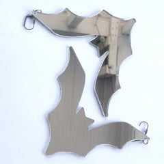 Plexi Bat Earrings