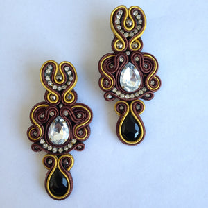 Soutache Magic Earrings
