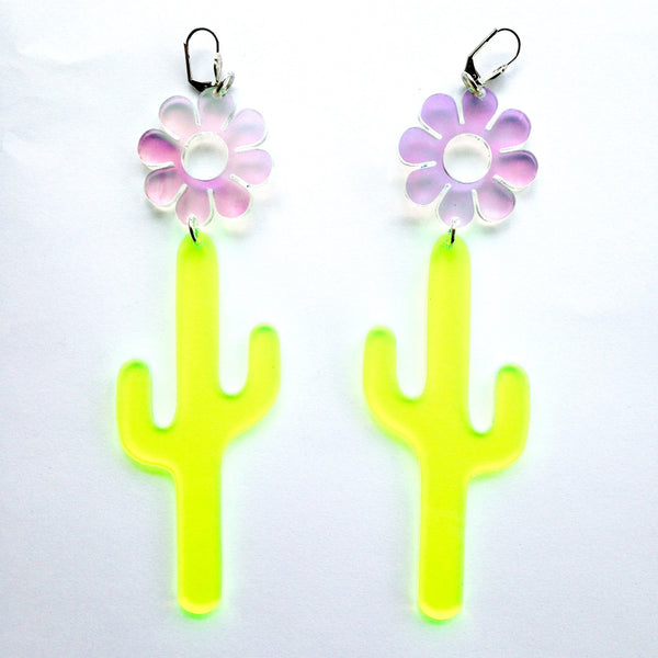Marina Fini / Flower Cactus Earrings