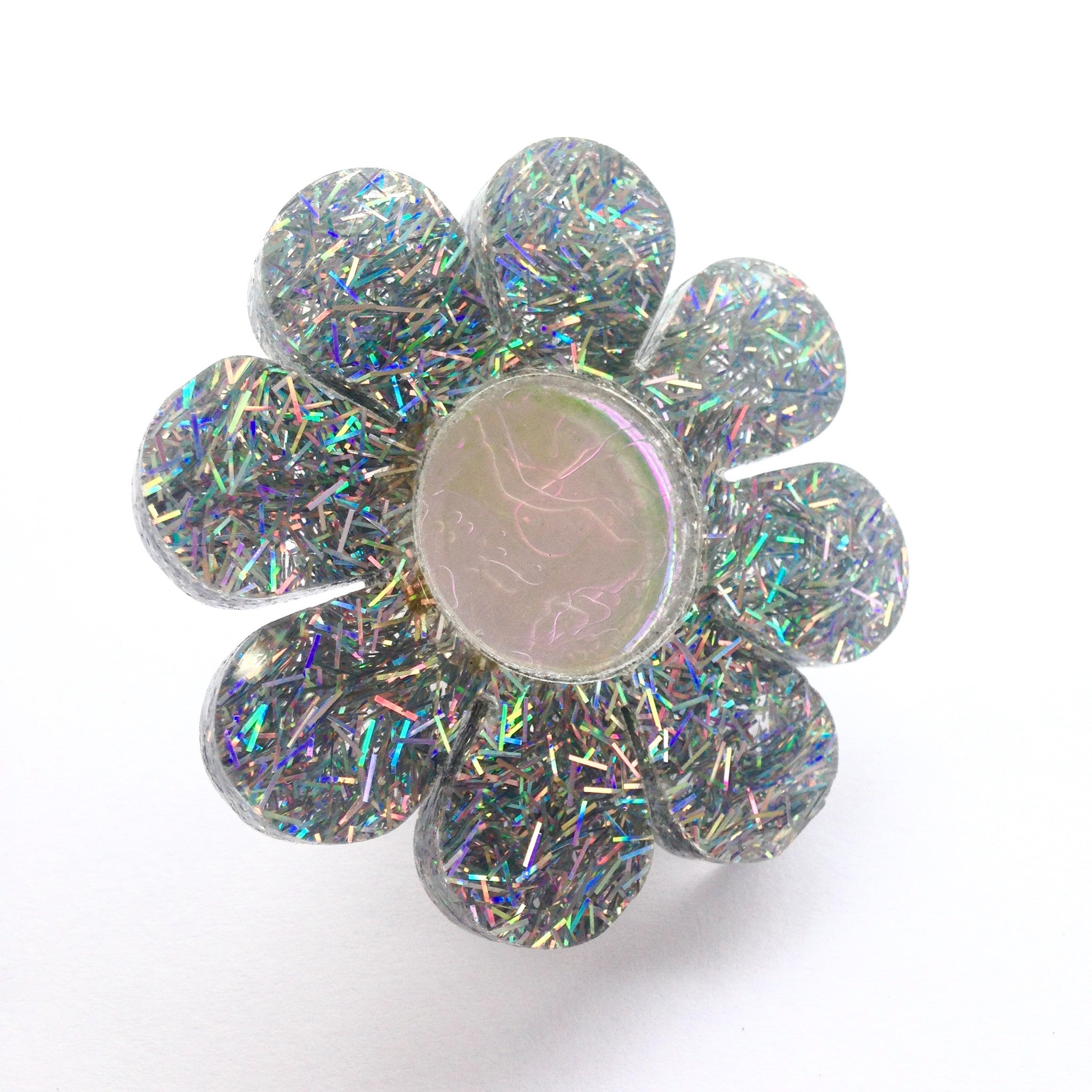 Marina Fini / Flower Power Glitter Ring