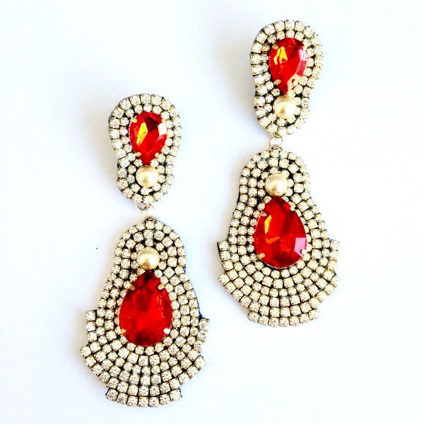Soutache Sparkle Earrings