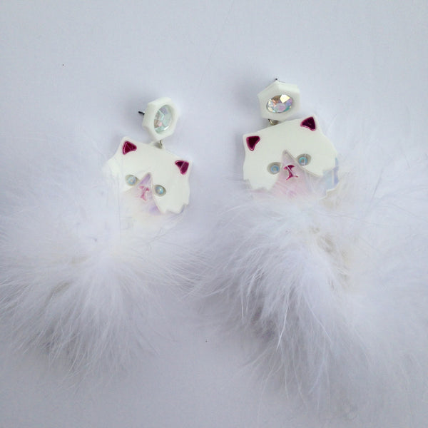 Kitty Fluff Earrings