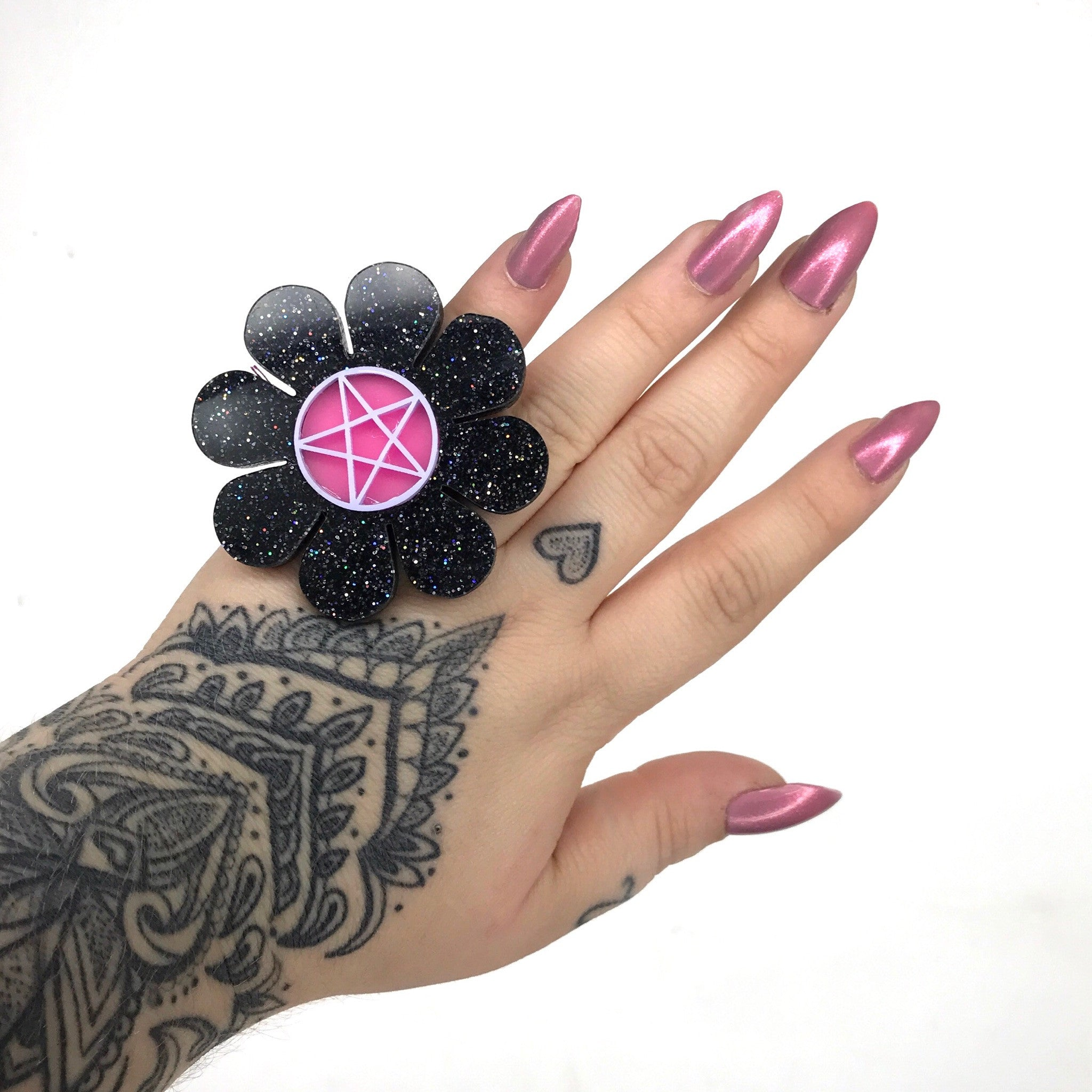 Marina Fini / Pentagram Flower Power Ring