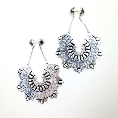 Balinese / Orchid Earrings