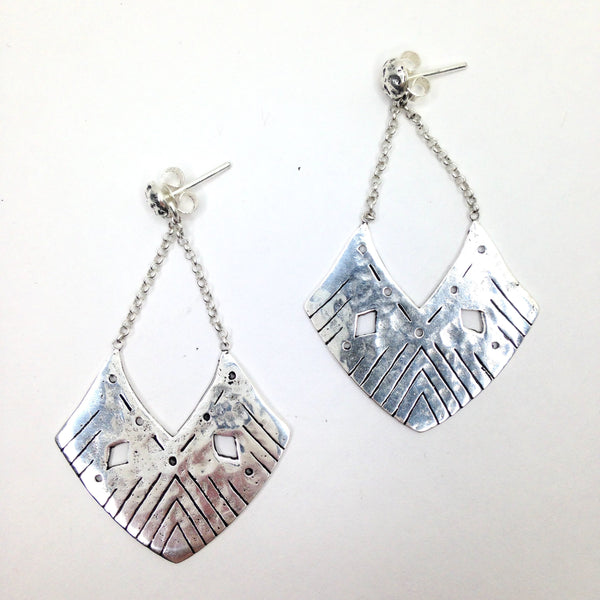 Balinese / Silver Eos Earrings