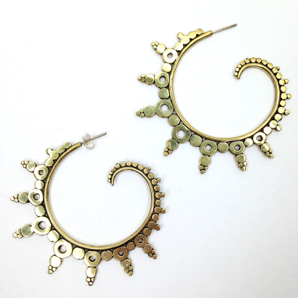 Balinese / Ourea Silver Earrings