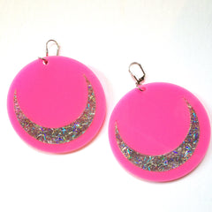 Marina Fini / Glitter Luna Earrings