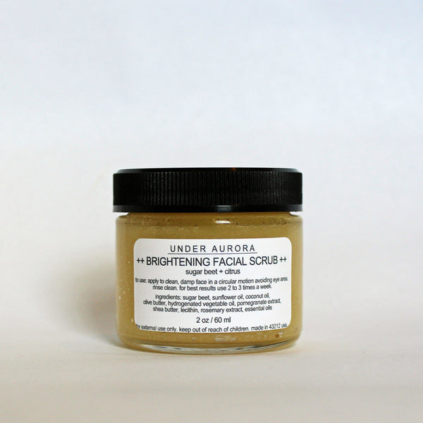 Under Aurora Brightening Facial Scrub