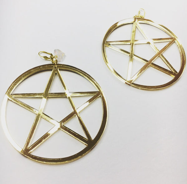 Marina Fini / Pentagram Earrings