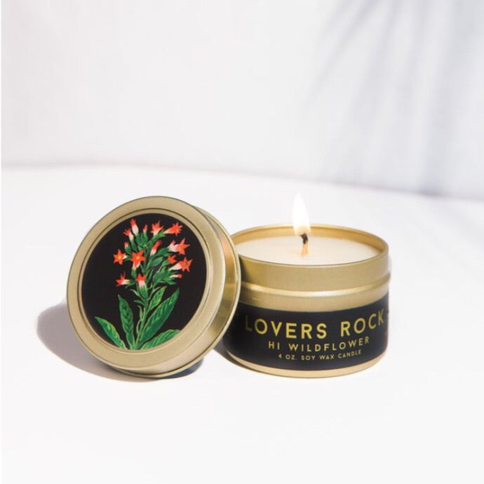 Hi Wildflower / Candle Tin