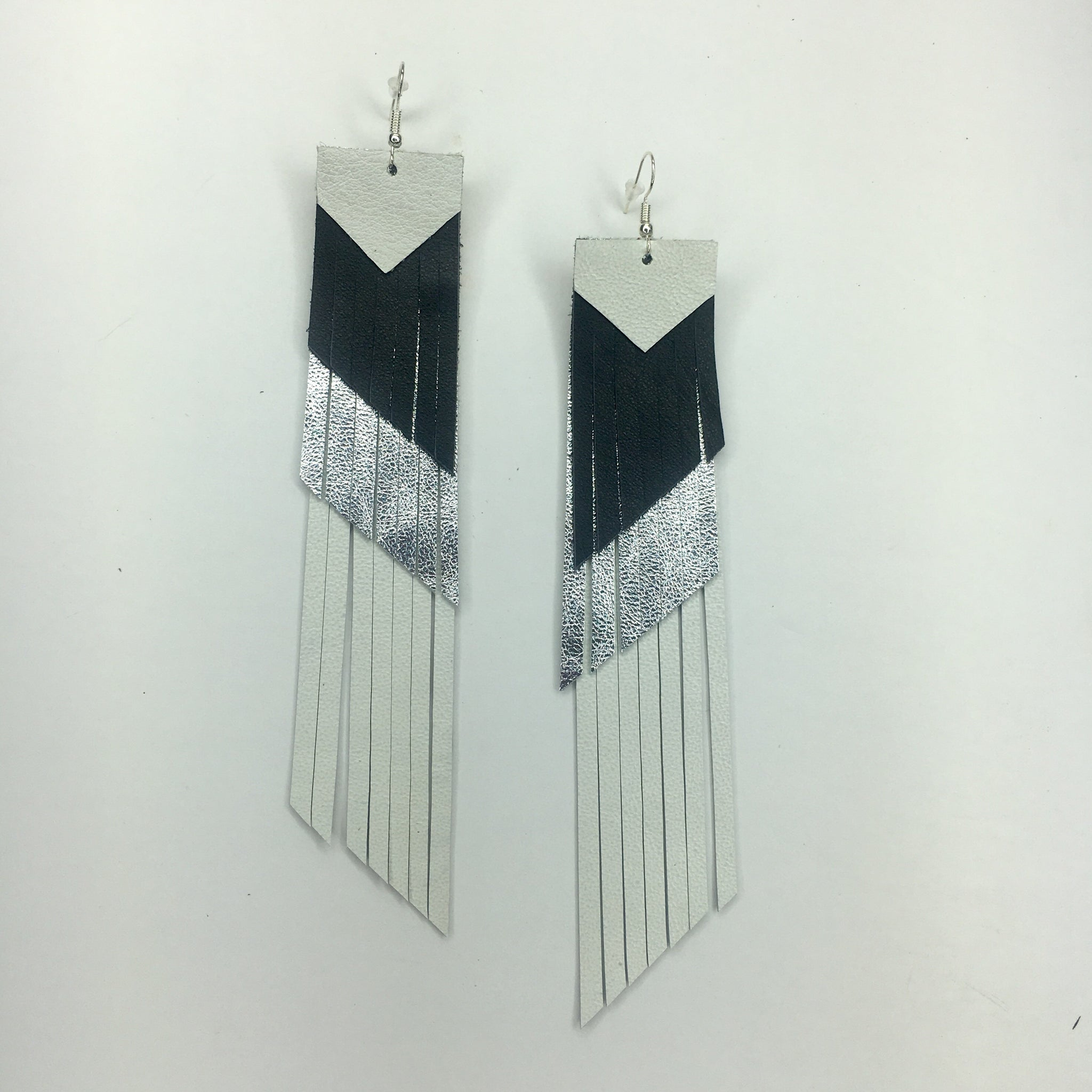 Chia Layered Fringe Earrings