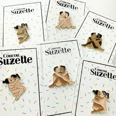 Coucou Suzette / Lovers Pins