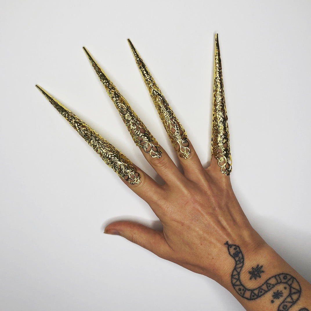 Qing Dynasty Filigree Claws