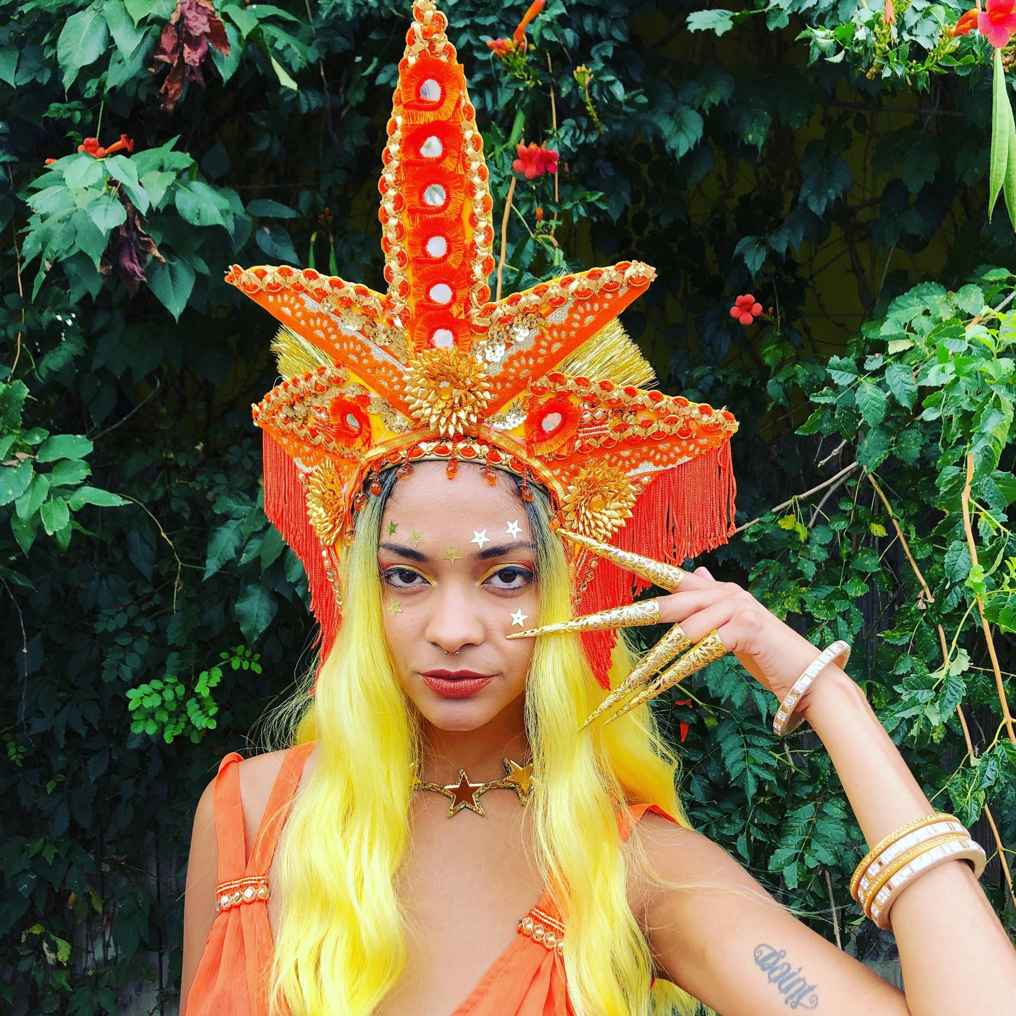 Sacral Chakra Crown Headdress